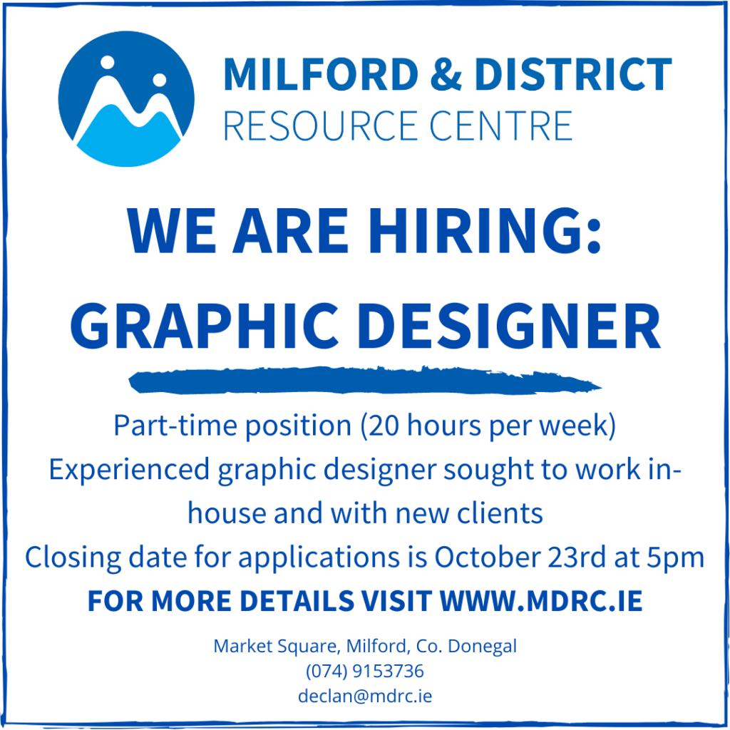 Graphic Designer MDRC Job Advert-DLDC