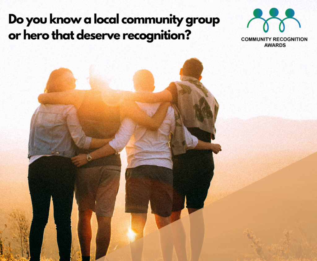 We are giving YOU the opportunity to VOTE for the community or voluntary group that makes a positive difference in your community. 2 e1634555611505-DLDC