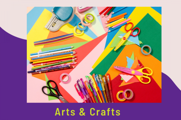 Arts and crafts march 2021